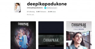 official tiktok account homepage of deepika padukone